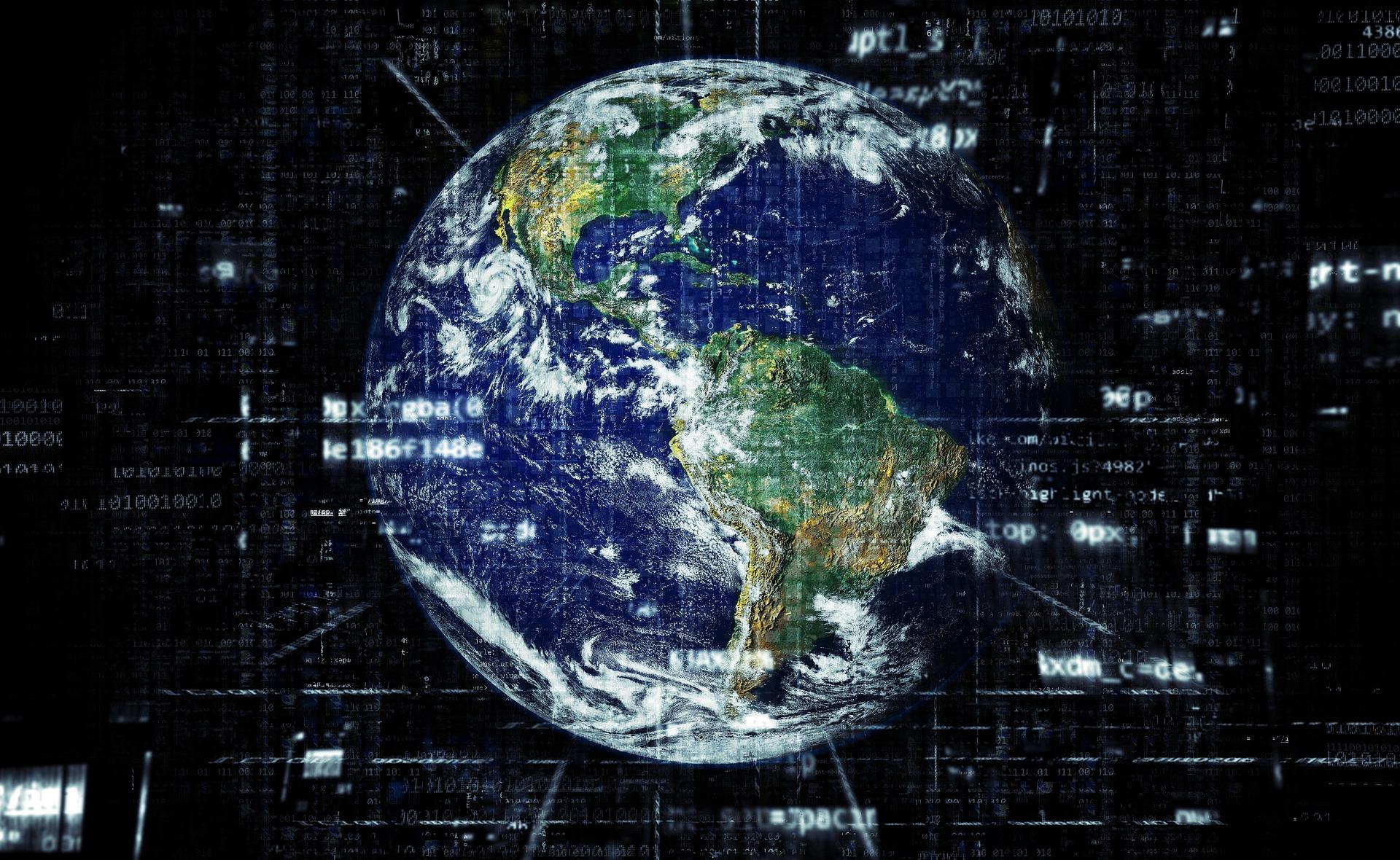 Earth Network Technology Globalisation Internet